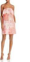 Aqua Strapless Shift Dress - 100% Exclusive