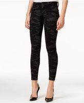 Hudson Nico Blackout Camo Wash Super Skinny Jeans