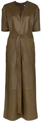 REMAIN V-Neck Short Sleeved Jumpsuit