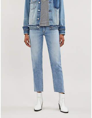 Selfridges Boyish The Tommy straight-leg mid-rise jeans
