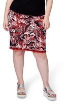 Rachel Roy Plus Size Women's Jacquard Pencil Skirt
