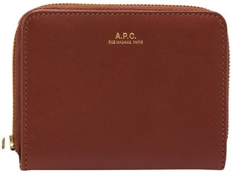 A.P.C. Emmanuelle small leather wallet