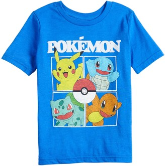 Pokemon Boys 4-12 Jumping Beans Four Square Tee