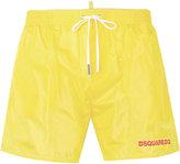 DSQUARED2 logo printed swim shorts - men - Nylon - 46
