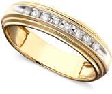 Macy's Men's Diamond Ring in Two-Tone 14k Gold ( 1/5 ct. t.w.)