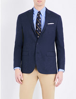 Polo Ralph Lauren Checked wool and silk-blend blazer
