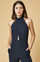 Oh My Love High Neck Cutout Jumpsuit