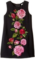 Dolce & Gabbana Rose Cadi Sleeveless Dress (Toddler/Little Kids)