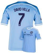 adidas Men's New York City FC David Villa Wordmark MLS Jersey