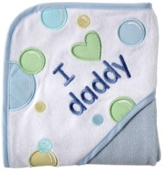 Luvable Friends I Love Hooded Towel