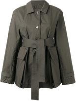 Lemaire oversized pocket jacket - women - Cotton - 34