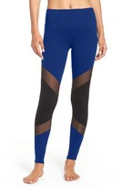 Beyond Yoga Women's High Waist Mesh Inset Leggings
