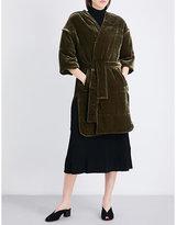 By Malene Birger Valourie self-tie velvet jacket