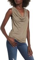 Supertrash Women's Tangy Drape Neck Sleeveless Top