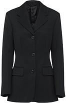 Prada fitted single breasted blazer