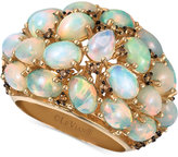LeVian Le Vian Chocolatier® Opal (5-1/3 ct. t.w.) and Diamond (1/4 ct. t.w.) Ring in 14k Gold