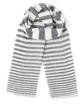 Stripe Cotton Linen Scarf
