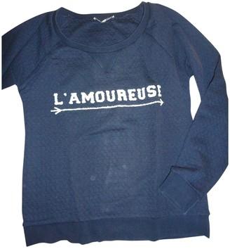 La Petite Francaise Navy Cotton Top for Women