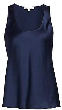 Elizabeth and James Women's Rachel Satin Tank Top