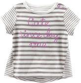 Osh Kosh Oshkosh Lilac Striped Tee - Baby Girls newborn-24m