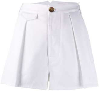 DSQUARED2 high-waisted A-line shorts