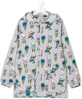 Stella McCartney ice-cream print parka