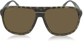 Gucci GG 1076/S Aviator Aluminum and Injected Sunglasses