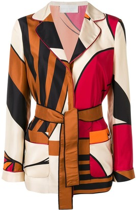 Alberta Ferretti Printed Jacket