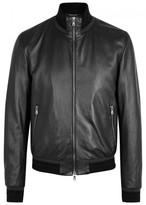 Dolce & Gabbana Black Leather Jacket