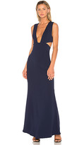 NBD x REVOLVE Yani Gown in Navy. - size L (also in M,S,XS)