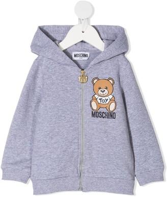 MOSCHINO BAMBINO Mascot Zip Hoodie