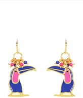 Juicy Couture Toucan Beaded Earrings