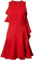 Alexander McQueen ruffled mini dress - women - Silk - 4