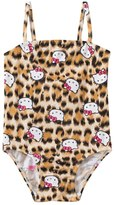 Hello Kitty Girls' Leopard & Kitty One Piece (4yrs6X) - 8129650