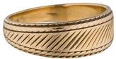 Ring 14K Engraved Band