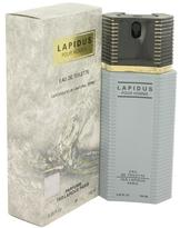 Ted Lapidus Lapidus Eau De Toilette Spray for Men (3.4 oz/101 ml)