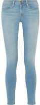 Frame Le Skinny De Jeanne Mid-rise Jeans - Mid denim