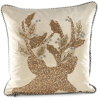 Mackenzie Childs Golden Hour Stag Pillow