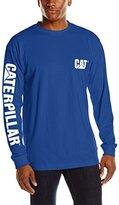 Caterpillar Men's Trademark Banner Long-Sleeve T-Shirt