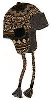 Muk Luks Traditional Knit Button Top Trapper Ha
