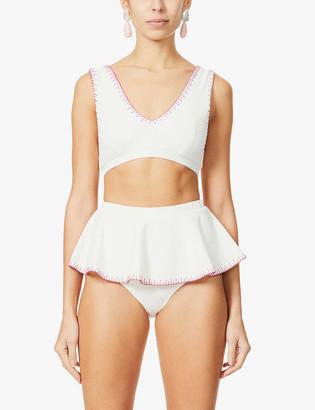 Marysia Swim Trulli V-neck bikini top