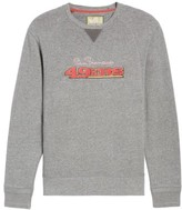 Tommy Bahama Men's Nfl Stitch Of Liberty Embroidered Crewneck Sweatshirt