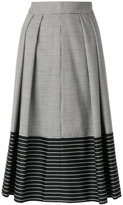 Marco De Vincenzo houndstooth skirt
