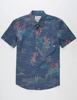 Quiksilver Channels Bruz Mens Shirt