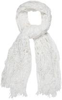 TABULA RASA Ootu macramé-weave shawl