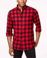 Club Room Men's Buffalo Flannel Shirt, Created for Macy's