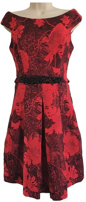 Erdem Red Cotton Dresses