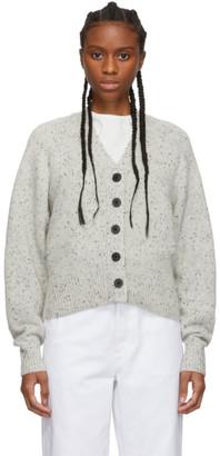 Isabel Marant Grey Cashmere Caliba Cardigan