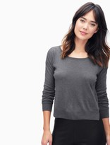 Splendid Cashmere Blend Cropped Sweater