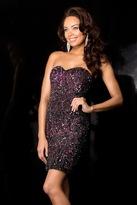 Scala 48560 Dress In Black/Wine